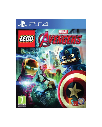 warner bros interactive Gra PS4 LEGO Marvel Avengers (wersja BOX; Blu-ray; PL - kinowa; od 7 lat)