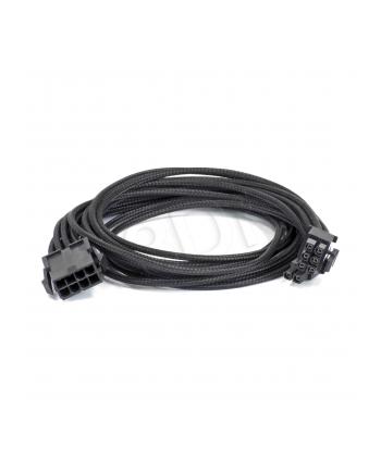 Kabel przedłużający PHANTEKS 6+2-Pin PCIe 50cm CZARNY