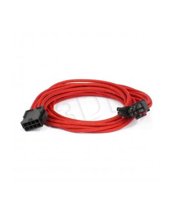 Kabel przedłużający PHANTEKS 6+2-Pin PCIe 50cm CZERWONY