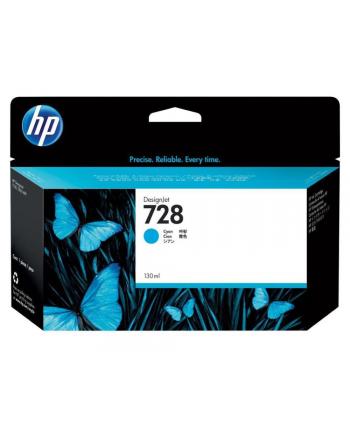 hewlett-packard Tusz HP F9J67A (oryginał HP728 HP 728; 40 ml; niebieski)