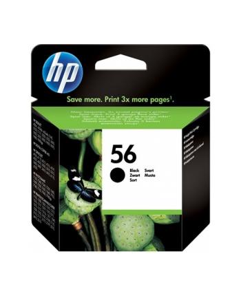 Tusz Hewlett-Packard C6656AE (oryginał HP56 HP 56; 19 ml; czarny)