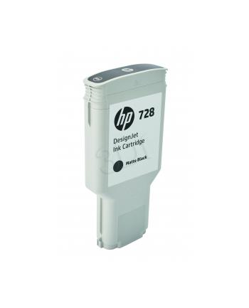 hewlett-packard Tusz HP F9J68A (oryginał HP728 HP 728; 300 ml; czarny matowy)