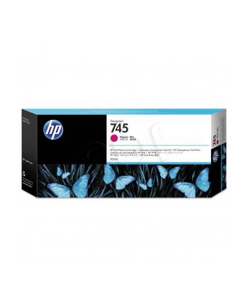 hewlett-packard Tusz HP F9K01A (oryginał HP745 HP 745; 300 ml; czerwony)