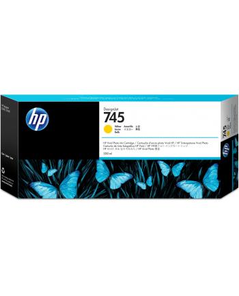 hewlett-packard Tusz HP F9K02A (oryginał HP745 HP 745; 300 ml; żółty)