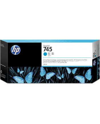hewlett-packard Tusz HP F9K03A (oryginał HP745 HP 745; 300 ml; niebieski)