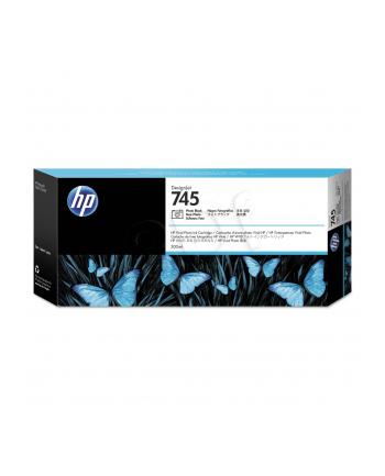 hewlett-packard Tusz HP F9K04A (oryginał HP745 HP 745; 300 ml; czarny)