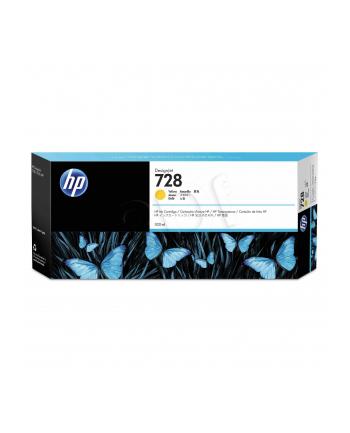hewlett-packard Tusz HP F9K15A (oryginał HP728 HP 728; 300 ml; żółty)