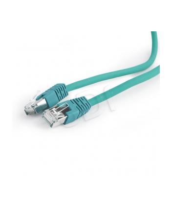 Kabel S/FTP GEMBIRD PP6A-LSZHCU-G-5M (RJ45 - RJ45; 5m; S/FTP; kat. 6a; kolor zielony)