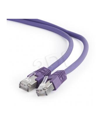 Kabel S/FTP GEMBIRD PP6A-LSZHCU-V-5M (RJ45 - RJ45; 5m; S/FTP; kat. 6a; kolor fioletowy)