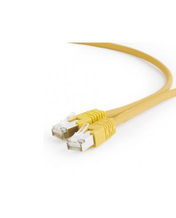 Kabel S/FTP GEMBIRD PP6A-LSZHCU-Y-0.25M (RJ45 - RJ45; 0 25m; S/FTP; kat. 6a; kolor żółty)