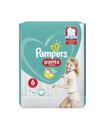 Pieluchomajtki PAMPERS 6 XL 19szt