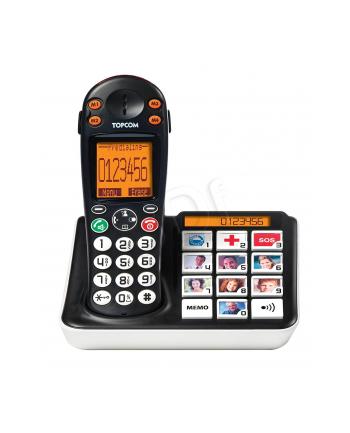 Telefon przenośny dla seniora TRISTAR TS-5611 (kolor czarny)