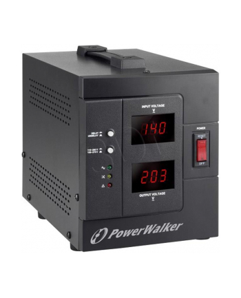 POWER WALKER STABILIZATOR NAPIĘCIA AVR 1500 SIV FR (230V  1500VA  2X PL OUT)