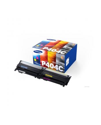 hewlett-packard Toner HP SU365A (oryginał CLTP404C; 1 x 1 500 stron  3 x 1 000 stron; czarny czerwony niebieski żółty)