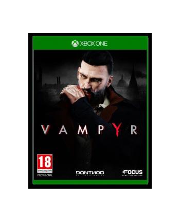 cd projekt red Gra Xbox One Vampyr (wersja BOX; Blu-ray; PL - kinowa; od 18 lat)