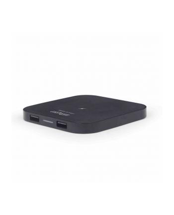 Ładowarka indukcyjna do smartfona ENERGENIE EG-WCQI-02 (Micro USB  USB; kolor czarny)