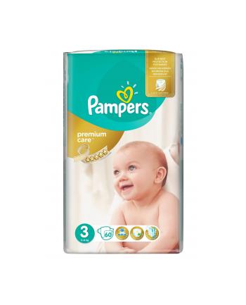 Pieluchy PAMPERS Premium Care 3 Midi 4-9kg 60szt