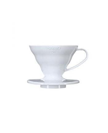 Drippery   ceramiczny          HARIO  VDC-01W (kolor biały)