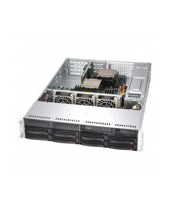Obudowa serwerowa Rack Supermicro  CSE-825TQC-R1K03LPB (kolor czarny)