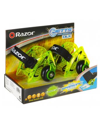 Wrotki na buty Razor Jetts Dlx 25073296 (kolor zielony)