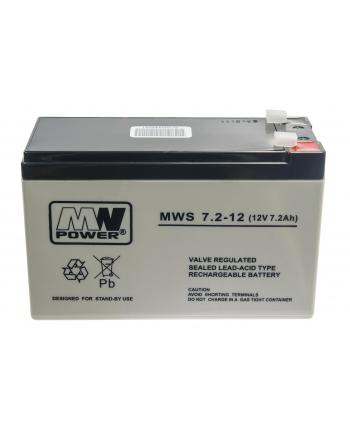 Akumulator MPL POWER ELEKTRO MWS 7.2-12 12V 7.2Ah