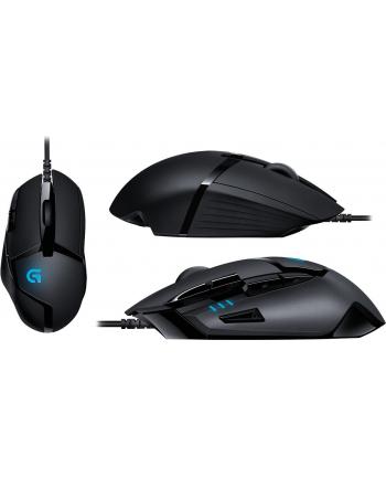 Mysz Logitech G402 HYPERION FURY 910-004070 (optyczna; 4000 DPI; kolor czarny)