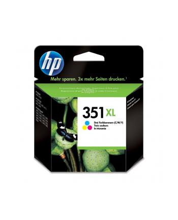 hewlett-packard Tusz HP CB338EE (oryginał HP351XL HP 351XL; 14 ml; kolor)