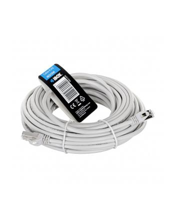Kabel IBOX IKS15W (RJ45 - RJ45; 15m; kolor biały)