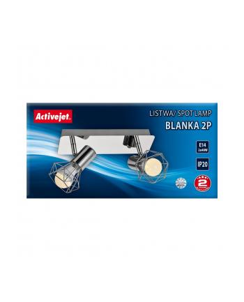 Listwa Activejet AJE-BLANKA 2P (80 W; E14 x 2)