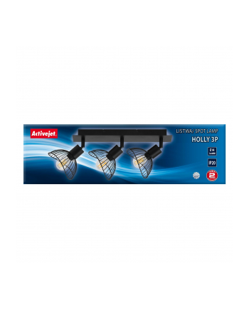 Listwa Activejet AJE-HOLLY 3P (120 W; E14 x 3)