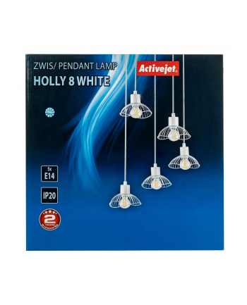 Lampa Activejet AJE-HOLLY 8 White (E14 x 5)