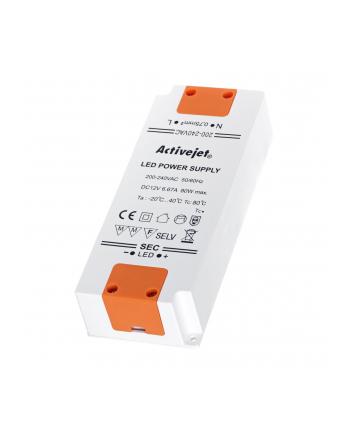 activejet Zasilacz stałonapięciowy LED 80W IP20