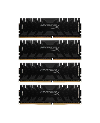 Pamięć RAM Kingston HyperX Predator HX432C16PB3K4/64 (DDR4 DIMM; 4 x 16 GB; 3200 MHz; CL16)