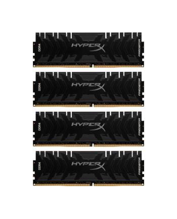 Pamięć RAM Kingston HyperX Predator HX436C17PB3K4/64 (DDR4 DIMM; 4 x 16 GB; 3600 MHz; CL17)
