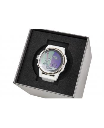 Zegarek sportowy Garmin Fenix 5S Plus Sapphire 010-01987-01 (kolor biały)