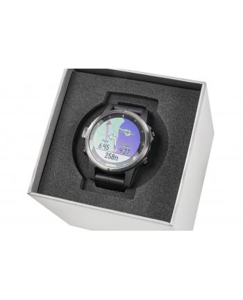 Zegarek sportowy Garmin Fenix 5S Plus Sapphire 010-01987-03 (kolor czarny)