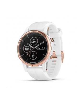 Zegarek sportowy Garmin Fenix 5S Plus Sapphire 010-01987-07 (kolor złoty)
