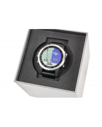 Zegarek sportowy Garmin Fenix 5S Plus 010-01987-21 (kolor srebrny)
