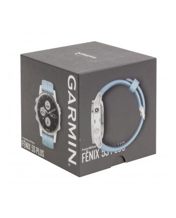 Zegarek sportowy Garmin Fenix 5S Plus 010-01987-23 (kolor biały)