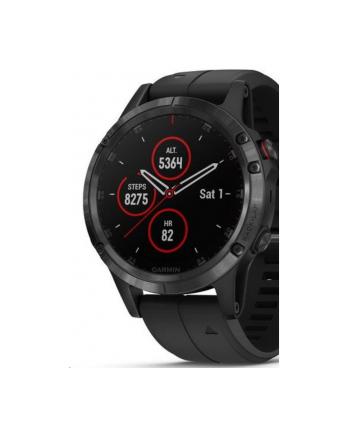 Zegarek sportowy Garmin Fenix 5 Plus Sapphire 010-01988-01 (kolor czarny)