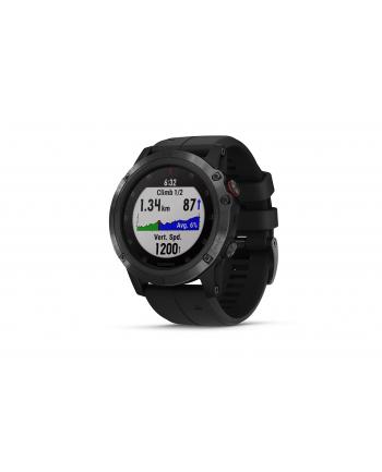 Zegarek sportowy Garmin Fenix 5X Plus Sapphire 010-01989-01 (kolor czarny)