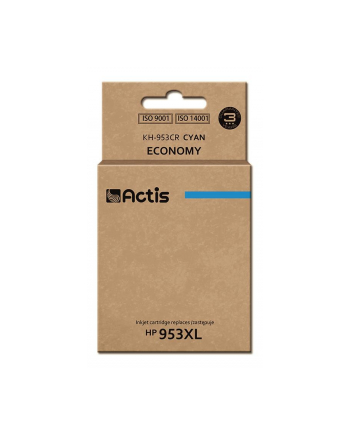 Tusz ACTIS KH-953CR (zamiennik HP 953XL F6U16AE; Premium; 25 ml; niebieski)