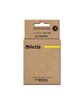 Tusz ACTIS KH-953YR (zamiennik HP 953XL F6U18AE; Premium; 25 ml; żółty)