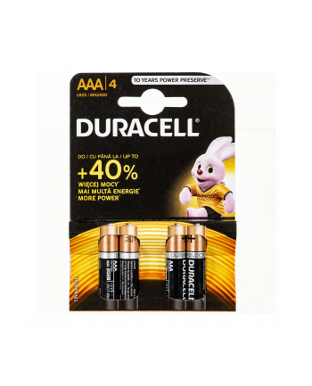 Baterie AAA Duracell (x 4)