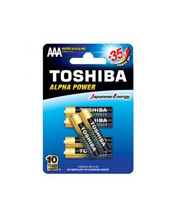 Baterie alkaliczne Toshiba LR03GCH BP-6 (Alkaliczny manganowy; x 6)