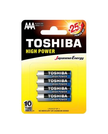 Baterie alkaliczne Toshiba LR03GCP BP-4 (Alkaliczny manganowy; x 4)
