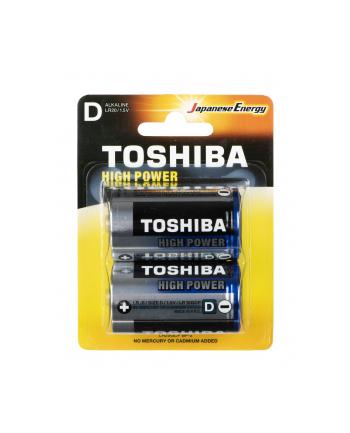 Baterie alkaliczne Toshiba LR20GCP BP-2 (Alkaliczny manganowy; x 2)
