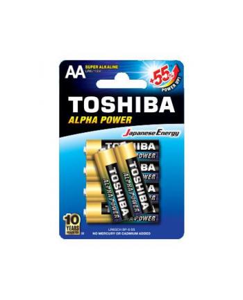 Baterie alkaliczne Toshiba LR6GCH BP-6 (Alkaliczny manganowy; x 6)