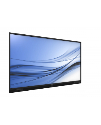 Monitor profesjonalny  wielkoformatowy Philips T-line 75BDL3151T/00 (74 5 ; dotykowy  IPS/PLS; 4K 3840x2160; kolor czarny)