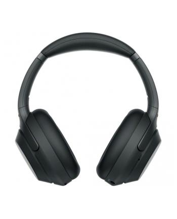 Zestaw słuchawkowy Sony Słuchawki bezprzewodowe Sony WH-1000XM3 czarne (kolor czarny)